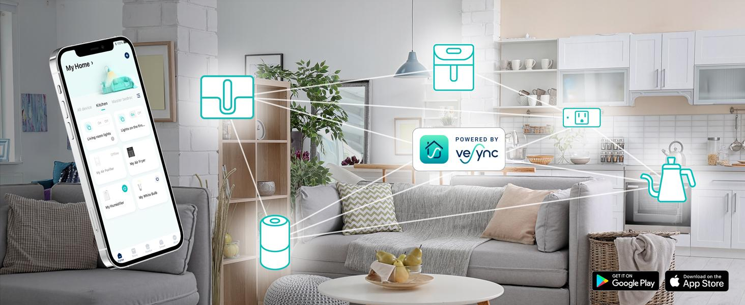 Smart Control With VeSync