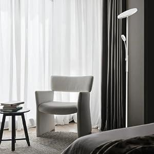 Lampadaire LED blanc