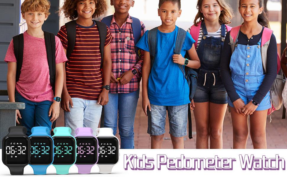 Kids Pedometer Watch
