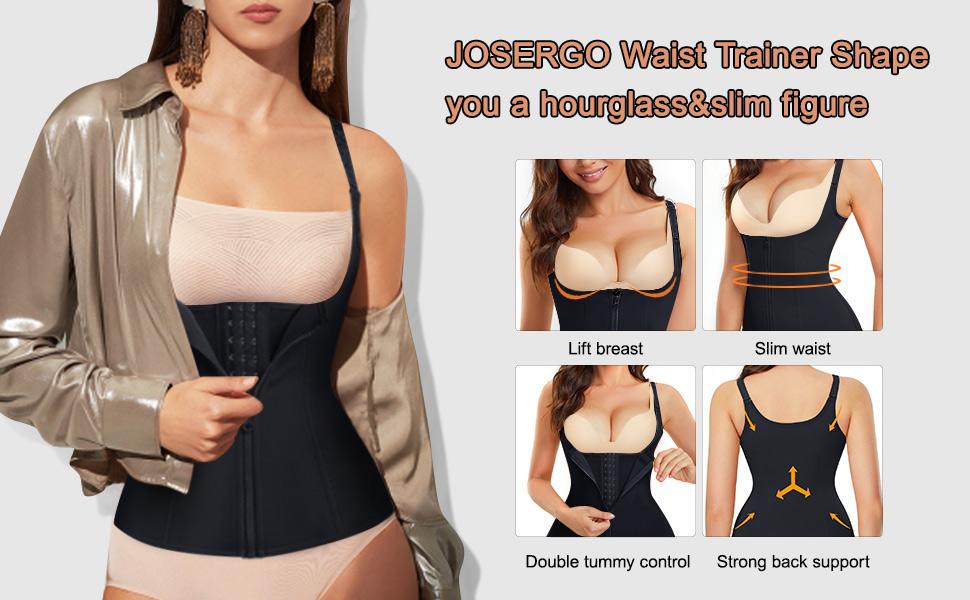 JOSERGO Waist Trainer Shape you a hourglass&slim figure