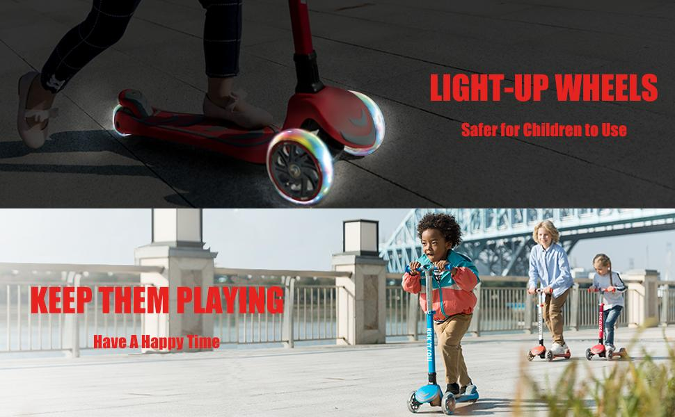 3 Wheeled Scooter for Kids