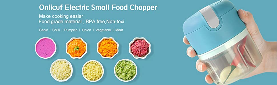 Onlicuf Electric Small Food Chopper