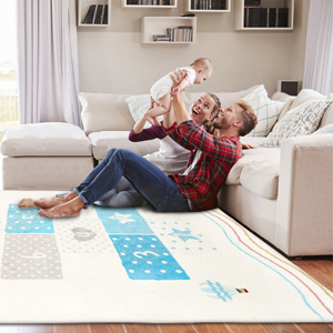 Fun and educational classroom fun rug