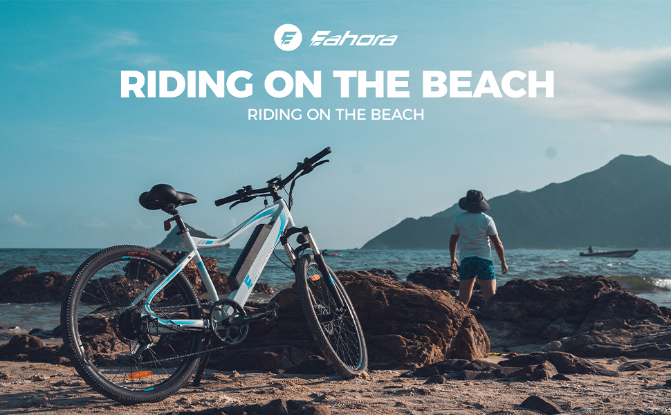 eAhora XC100 Plus electric bicycle electric bike electric mountain bike