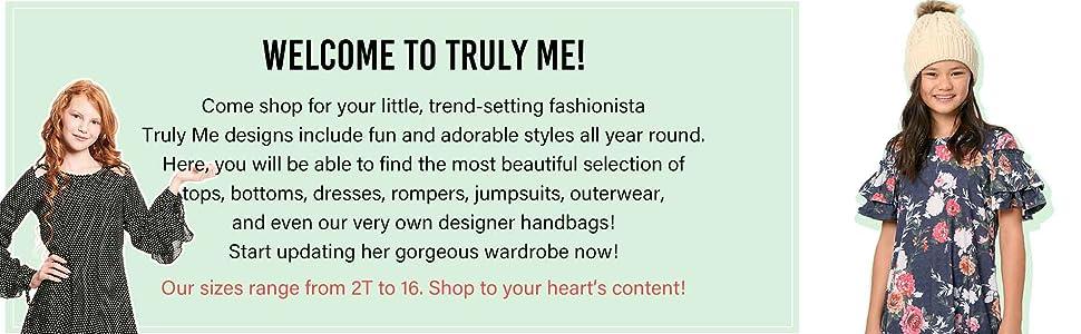 truly me designer girls big little preteen tween teen clothing apparel dress romper style fashion