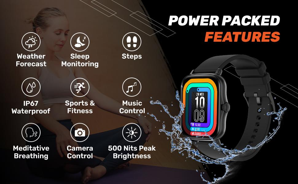 power packed features smartwatch