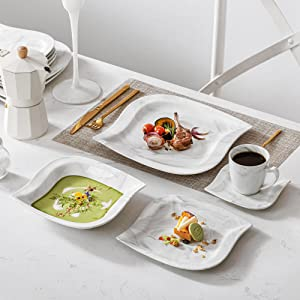 dinner sets porcelain marble gray dinnerware set plates and bowls sets mugs dishes dinner plates