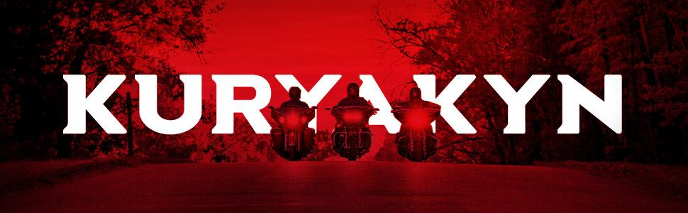 Kuryakyn motorcycle long road travel large secure foot comfort and stylish design for safe riding