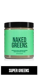naked greens, superfood powder, greens powder