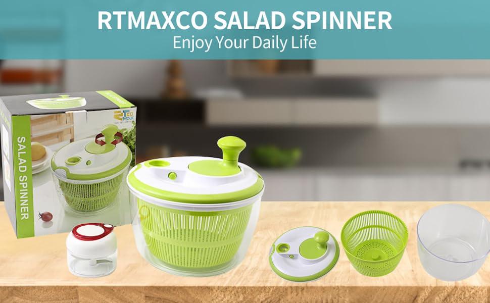 Salad Spinner Lettuce dryer kitchen gadget