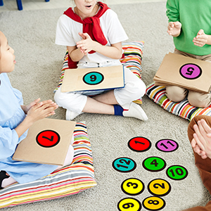 number spot markers classroom floor line up spots floor decals for classroom line up stickers