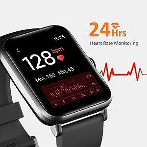 smart watch heart rate monitor watch
