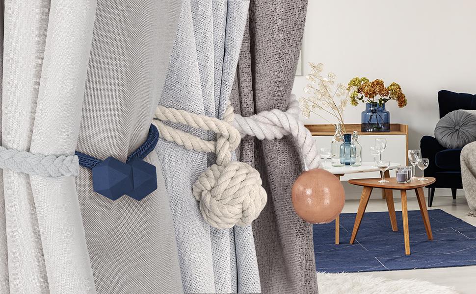 Braided Curtain Tie Back