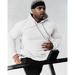 men's gym hoodie