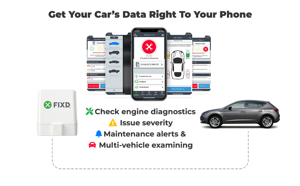 Car's Data right to phone