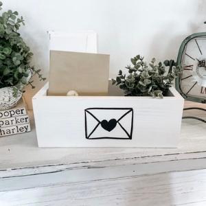 Heart Envelope Mail Holder