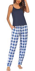 cami and pants pajama set