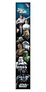 Star Wars wood wall art