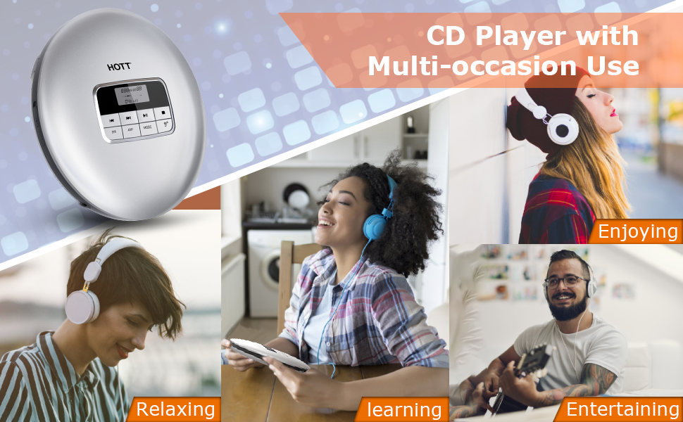 CD Player with multi-occasion use