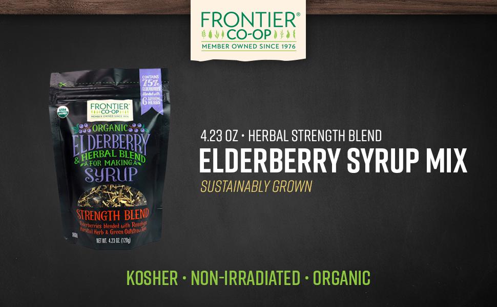 Frontier Co-op Elderberry Syrup Kit 4.23oz