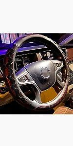 PINCTROT Large Steering wheel cover