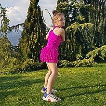 Girls pink Tennis dress, Girls Pink Golf dress