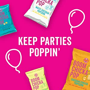 Keep parties poppin' with Angie's BOOMCHICKAPOP Popcorn in a variety of bag sizes