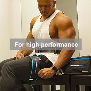 bfr training cuffs for  athletes