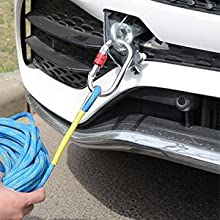 Can be used as a car towing rope