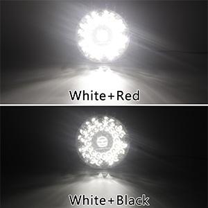 7 inch round bus light