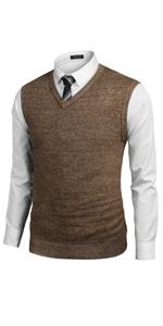 COOFANDY Mens Casual Sweater Vest