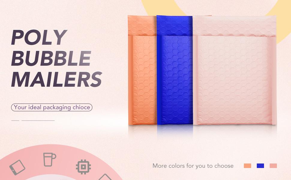poly bubble mailers
