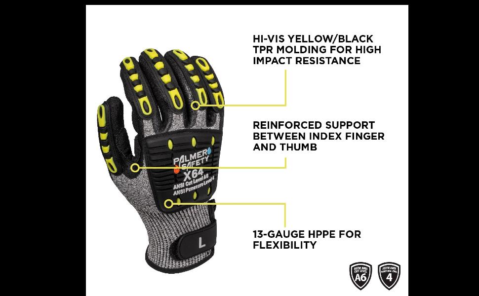 general utility work gloves