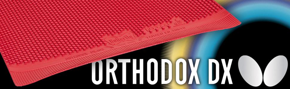 Butterfly Orthodox hardbat rubber