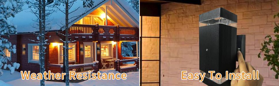 Install of the Light Sensor Outside Lights for House