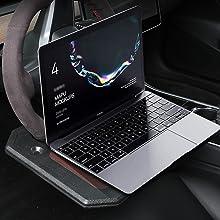 car steering wheel table