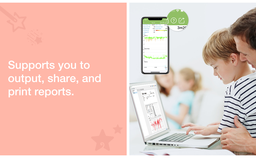 supports you to share reports