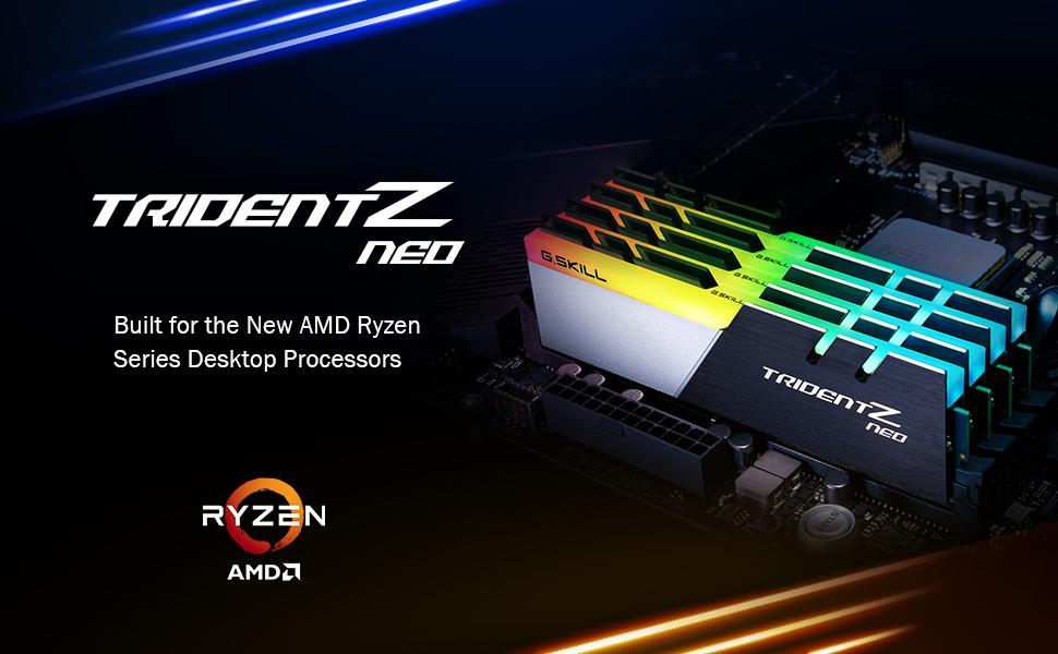 gskill trident z neo extreme amd gaming performance ddr4 pc memory