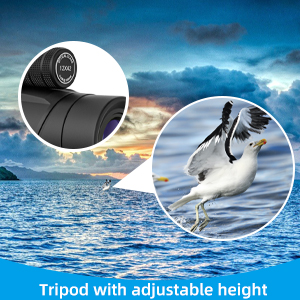 monocular for adults high powered with zoom