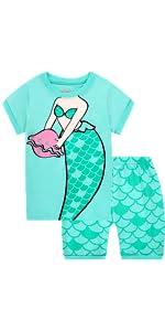 Pijamas de sirena