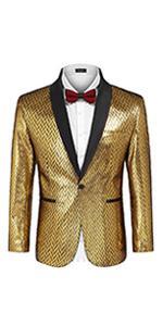 Men's Fashion Suit Jacket Blaze