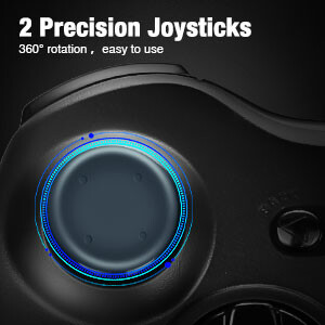 2 Precision Joysticks