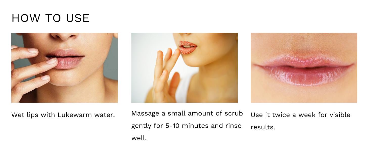 How to Use ALANNA Lemon Lip Scrub