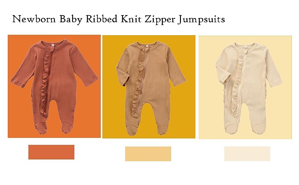 baby knit zipper rpmper