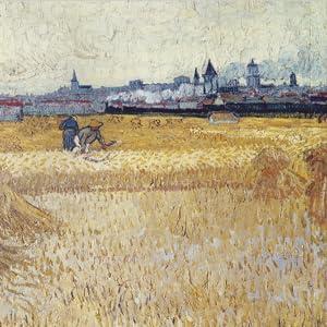 Arles seen from the Wheatfields, Musée Rodin, Paris