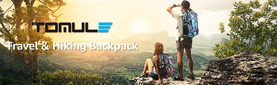 Hiking Daypack Travel Backpack Casual Camping Backpack Packable