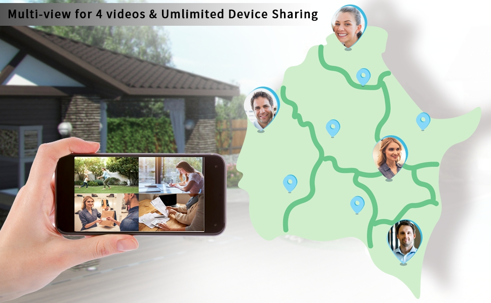 Multi-view & Unlimited Sharing