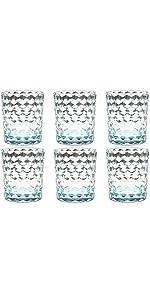 8 Oz Plastic Water Glasses