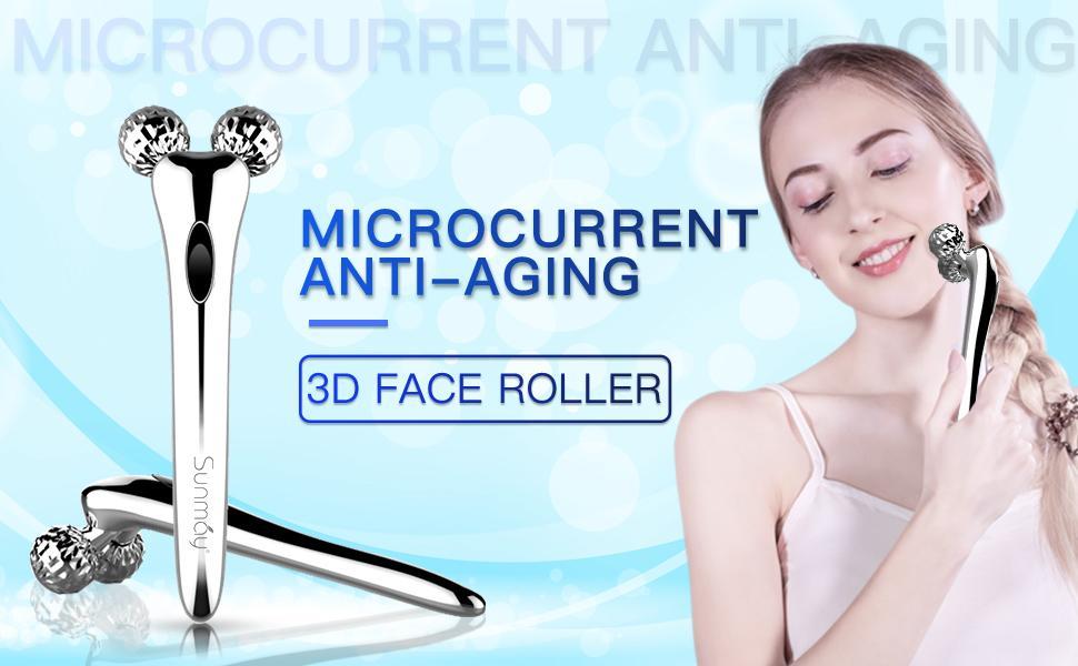 3D Facial Roller
