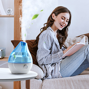 Humidifiers for dry skin